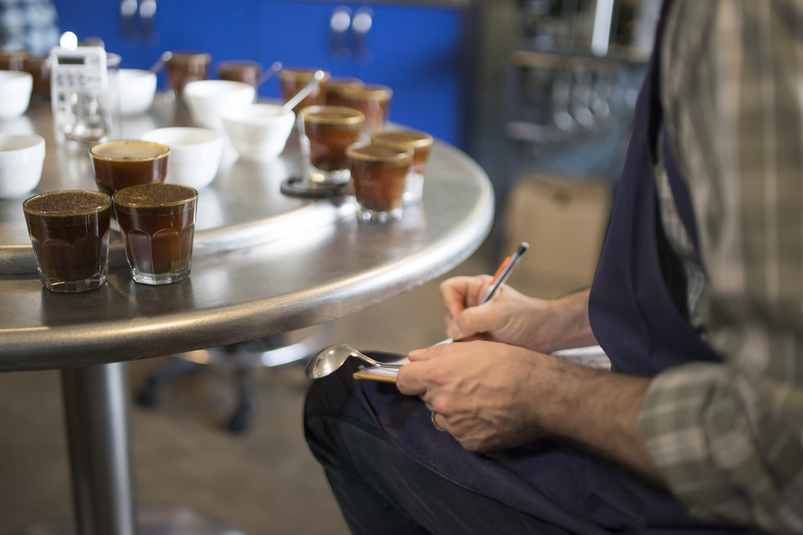 Intelligentsia's New Cupping Form