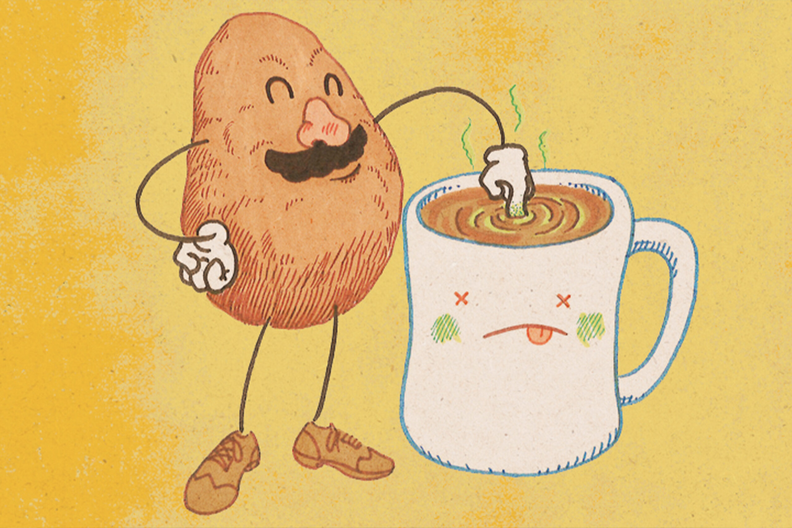 What to do about Mr. Potato